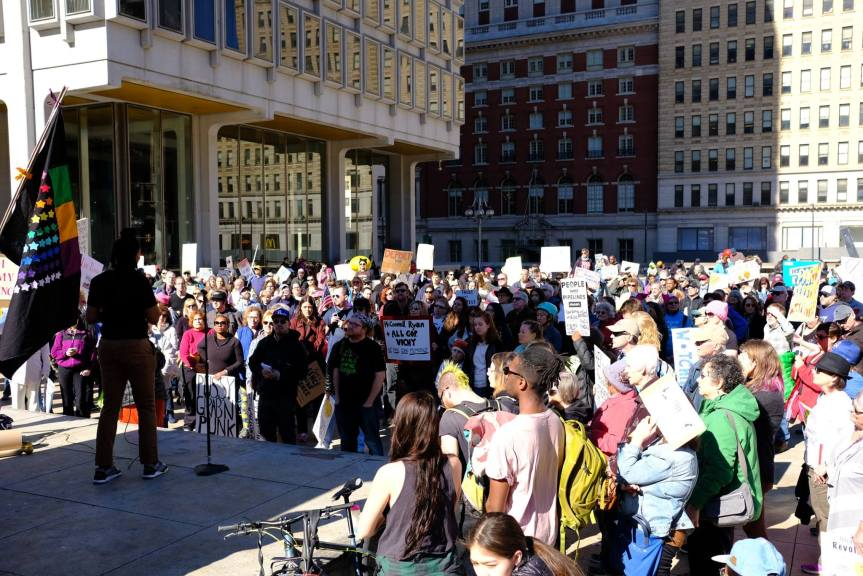 On Climate: at Not My President's Dayrally